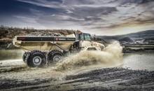 Terex Trucks shows largest articulated hauler