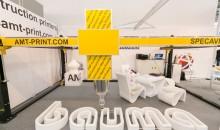 AMT S-6044 3D printer will print furniture, walls or buildings