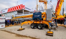 Manitowoc adds Hup M 28-22 to its mobile self-erecting crane family