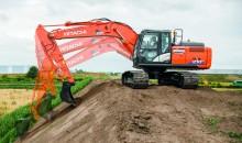 Hitachi, Trimble and the ZX210X-6 ICT hydraulic excavator