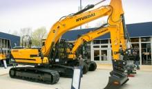Hyundai's versatile excavator at bauma 2019