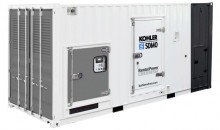 Kohler equips containerised generating set with engine