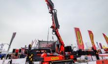 Palfinger's new PCC 757.002 crawler crane makes it debut at bauma 2019