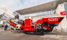 SBM debuts Remax mobile impact crusher at bauma 2019