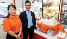 Guimu pavement robot rolling out globally