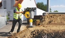 Efficient tamping unit from BOMAG