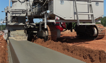Improved concrete slipforming capabilities from Power Curbers