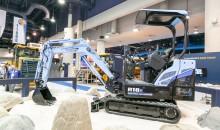 Electric mini excavator from Hyundai