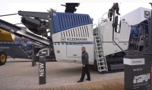 Robust, low maintenance and fuel efficient: The new Kleemann 120 PRO