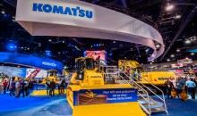 Komatsu continues search for viable alternative fuels