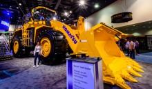 Komatsu launches the WA900‐8 wheeled loader