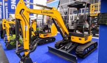 LiuGong unveils new mini excavator trio