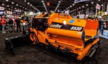 New 8530 asphalt paver from LeeBoy