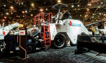 Roadtec's improved material transfer vehicle