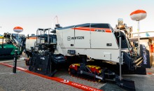 Wirtgen's productive new W 380 Cri road recycling machine goes on show